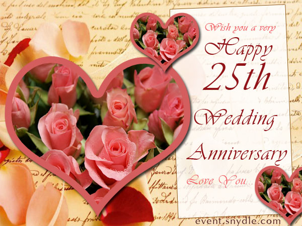 beautiful 25th wedding anniversary messages