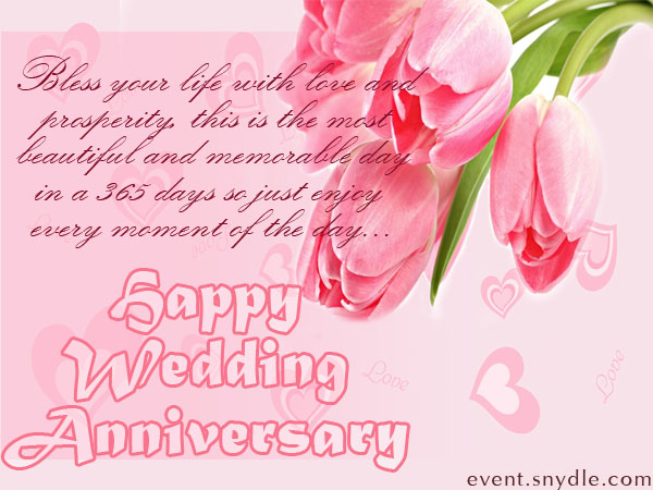 Free Wedding Anniversary Cards