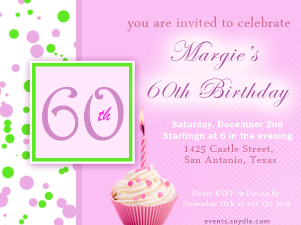 20 top birthday invitations to invite your guests festival around 60th birthday invitations filmwisefo