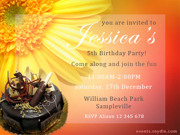 20 top birthday invitations to invite your guests festival around