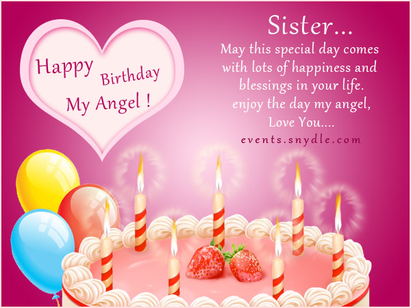Happy Birthday Little Sister Greeting Cards Festival Around The World