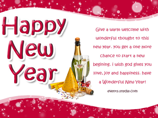 warm new year wishes