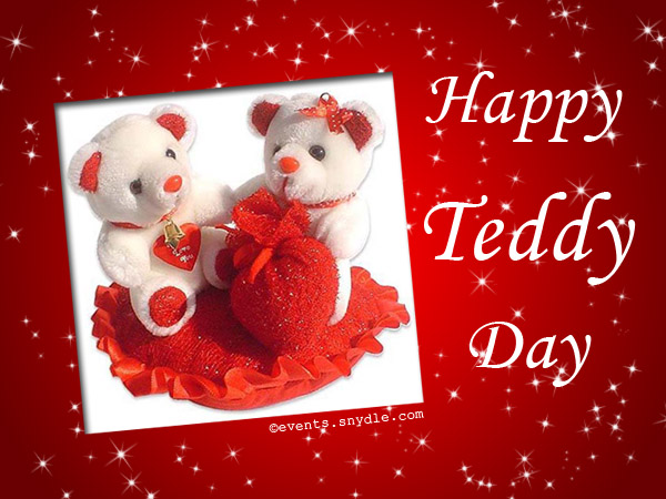 Valentines day greetings cards and wishes Festival Around the – Teddy Bear Valentines Day Card