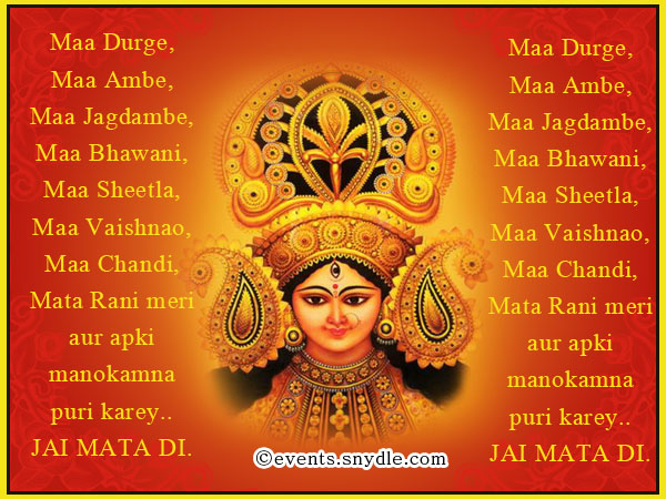 Navratri greetings wishes and messages festival around the world happy navratri greeting cards m4hsunfo