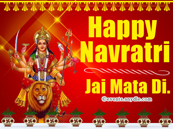 Navratri greetings wishes and messages festival around the world happy navratri greetings m4hsunfo