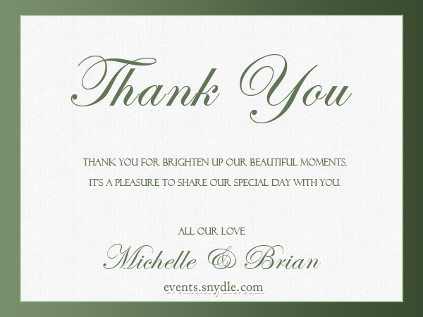 Modern Etiquette: Thank You Dos and Dont's + 10 Cute Thank You Cards