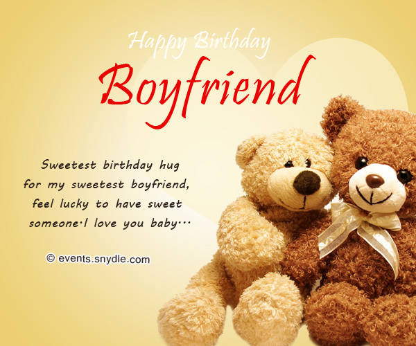 Boyfriend Birthday Sms: Birthday Wishes For Boyfriend