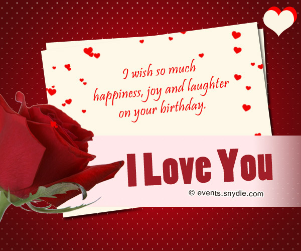 Message For My Healthcare And Love: Birthday Wishes For Boyfriend