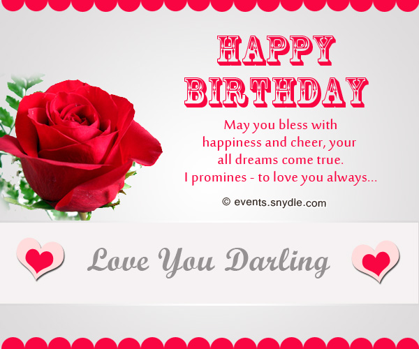 Birthday wishes for boyfriend Festival Around the World – Romantic Birthday Card