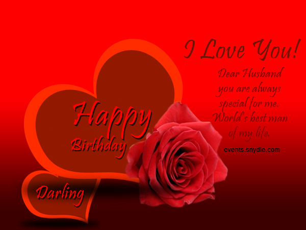 Birthday wishes for husband greetings and messages festival birthday greetings for husband m4hsunfo