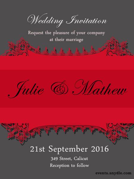 Free online wedding invitation cards Festival Around the World – Friends Wedding Invitation Cards