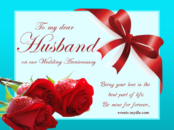 Wedding Anniversary Ideas Husband : Wedding Anniversary Cards for Husband - Festival Around the World