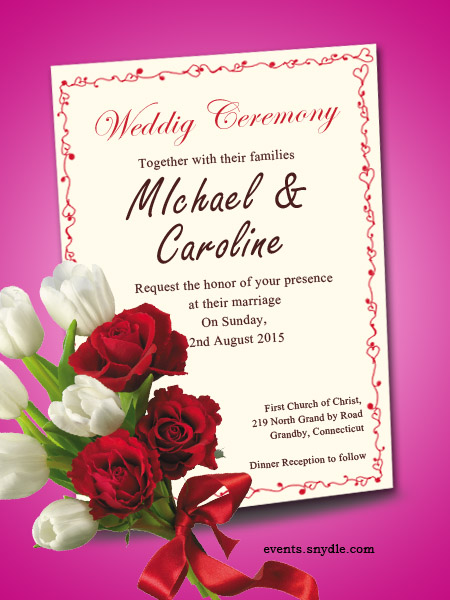 Wedding Invitation Cards For Friends