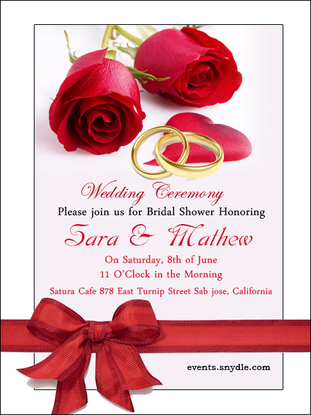 Free Online Wedding Invitation Cards Festival Around The World