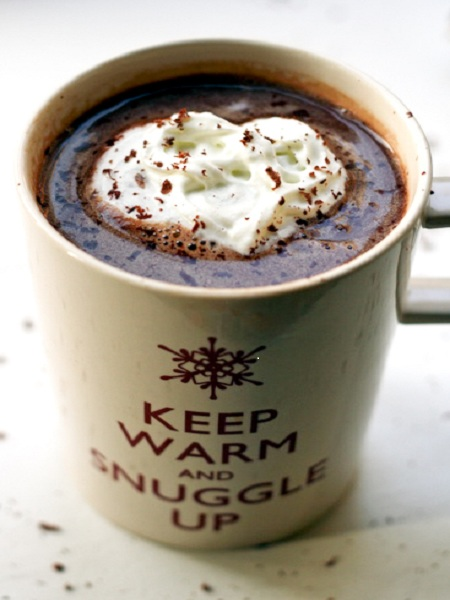 Caramel Vodka Hot Chocolate