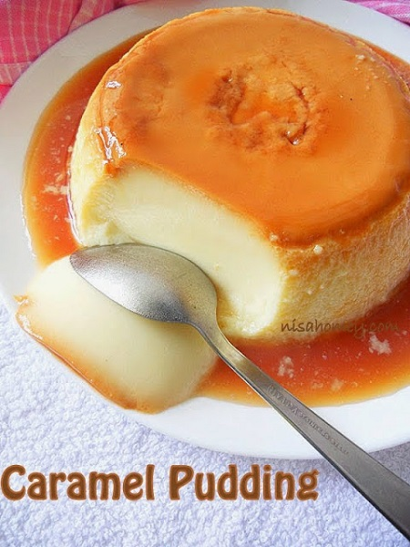 caramel oudding