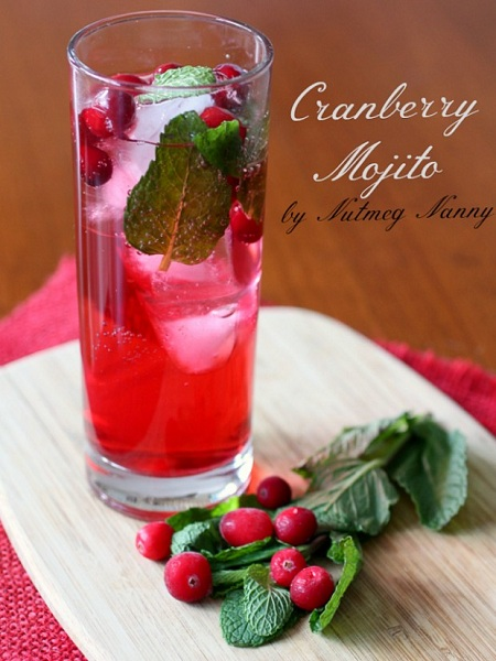 cranberry-mojito