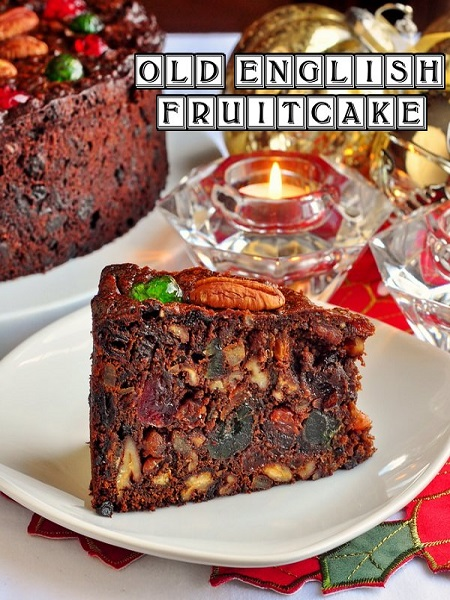 old english fruit cake