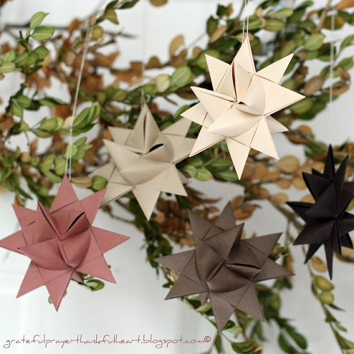 german-paper-stars