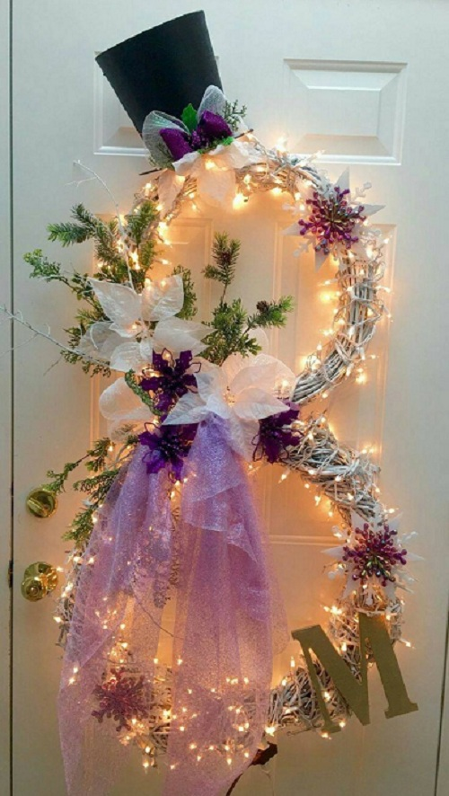 lighted-snow-man-wreath