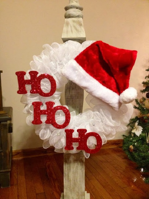 santa-wreath