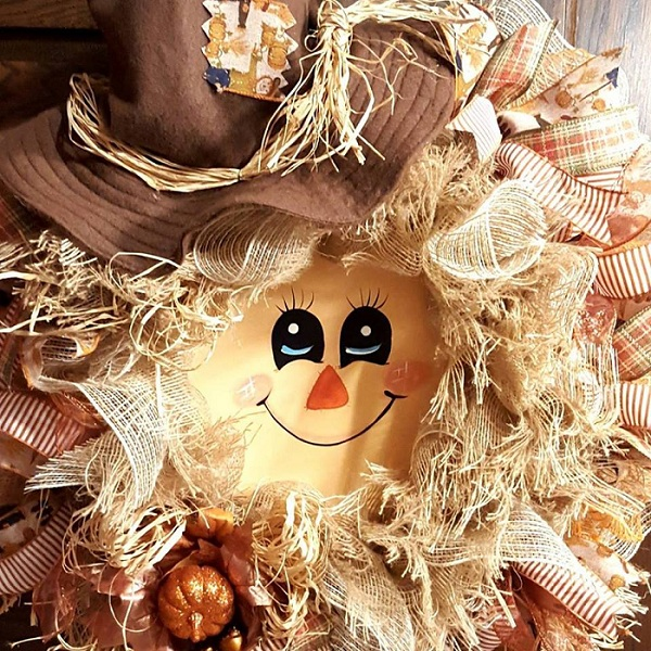 scarecrow-wreath