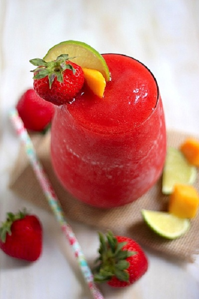 strawberry-mango-margaritas