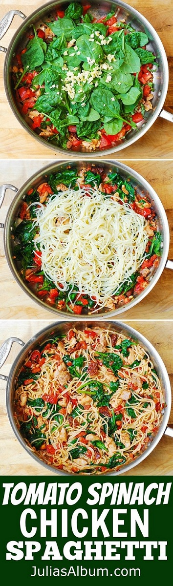 tomato-spinach
