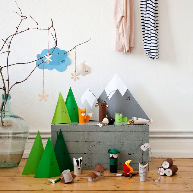 Original Advent Calendar Ideas : Cool christmas advent calendar ideas festival around the