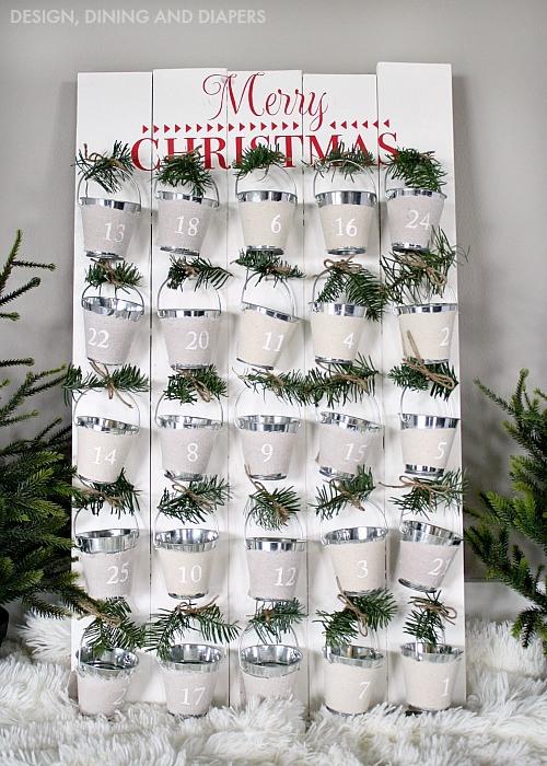 Cool Christmas Advent Calendar Ideas Festival Around The