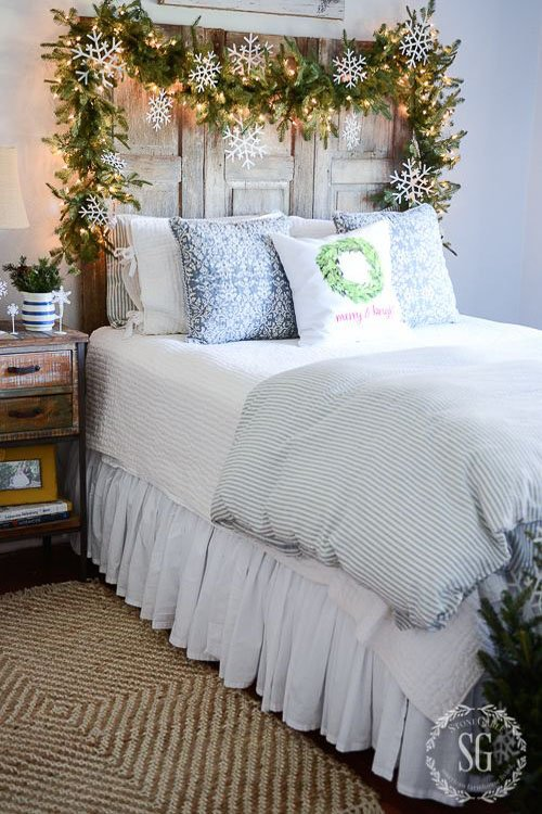 cozy christmas bedroom decorating ideas festival around the world