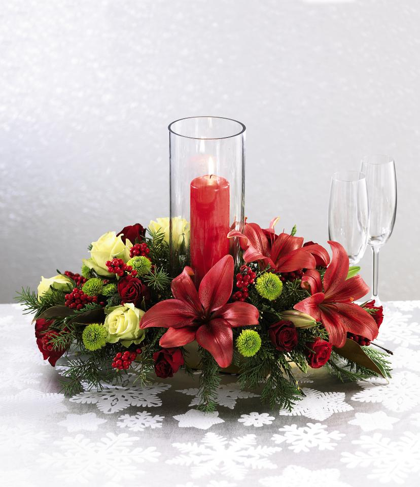 Beautiful christmas candle decoration ideas festival for Deco de table noel