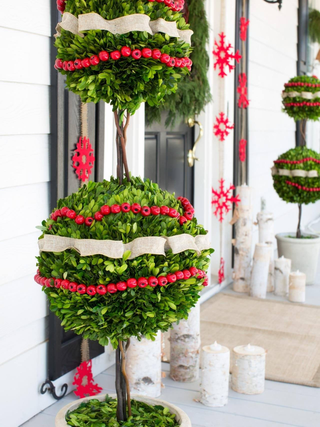 Beautiful Outdoor Christmas Decorating Ideas For You To