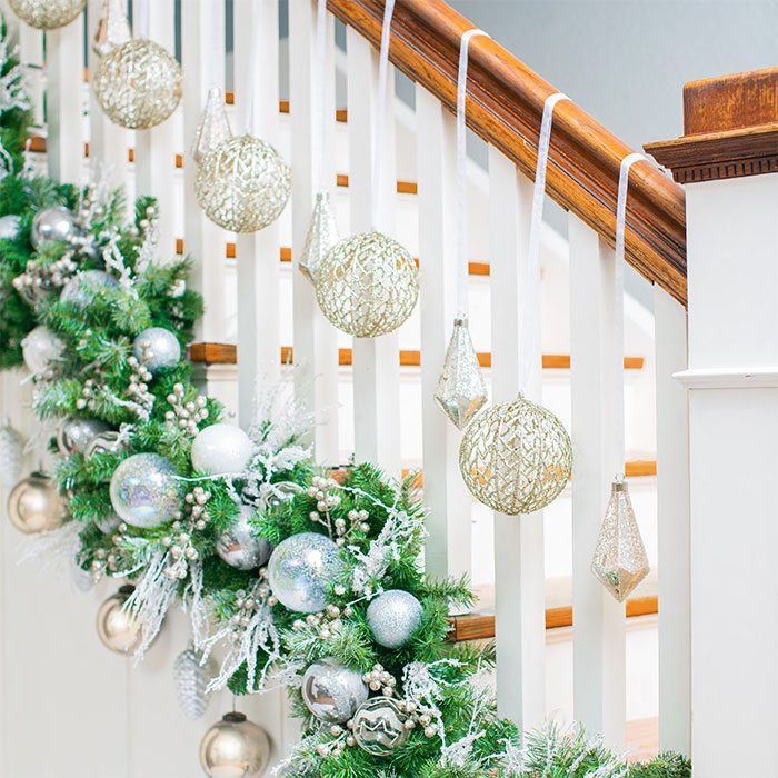 Christmas Diy Decorating Ideas: Scintillating Christmas Garland Decoration Ideas