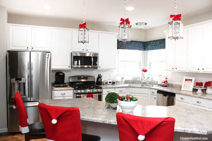 Cozy Christmas Kitchen Decorating Ideas Festival Around