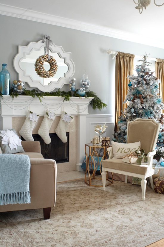 Christmas Living Room Decoration Ideas 26