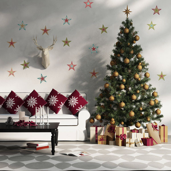 christmas living room decoration ideas 9
