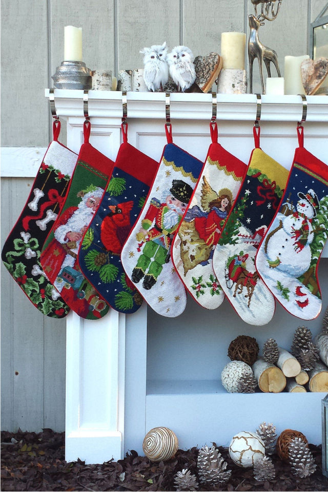 christmas stocking decoration ideas 1