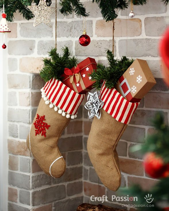 Adorable Christmas Stockings Decoration Ideas Festival Around