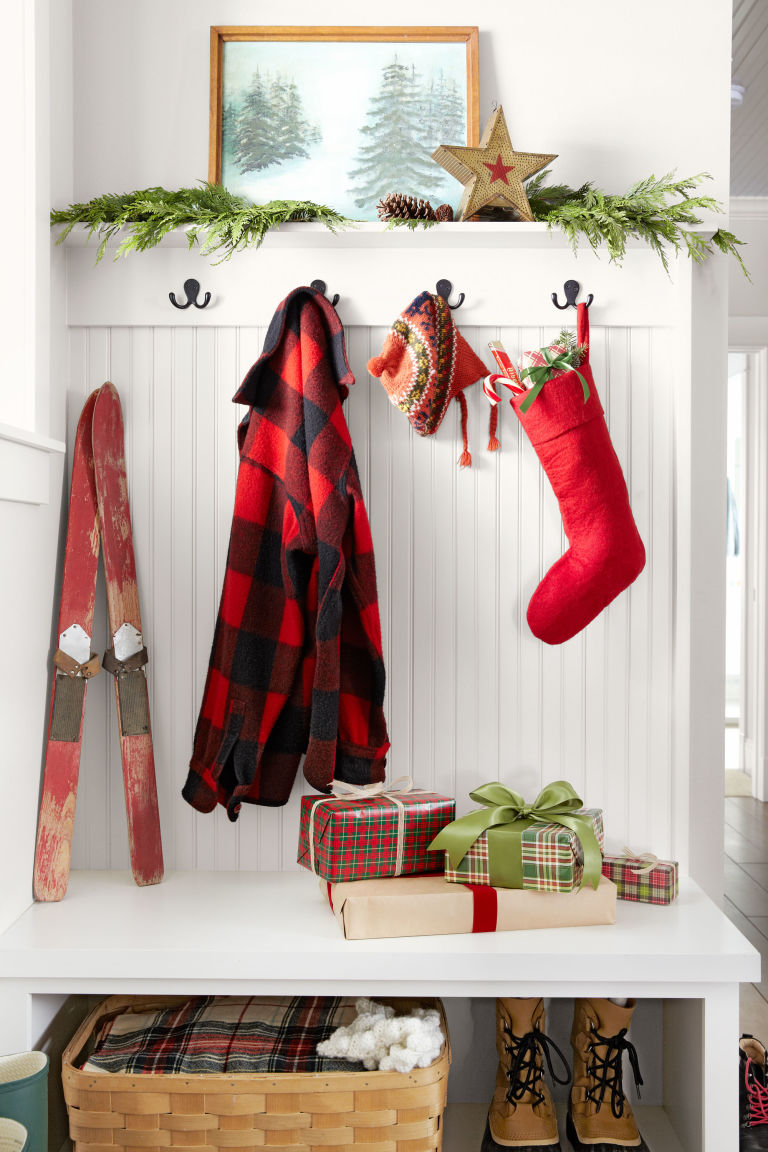 adorable christmas stockings decoration ideas festival around the