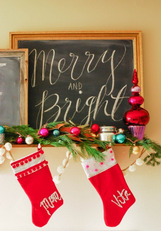 christmas stocking decoration ideas 6