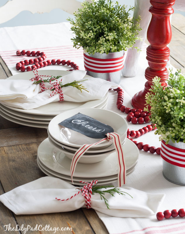 christmas table decoration ideas 17