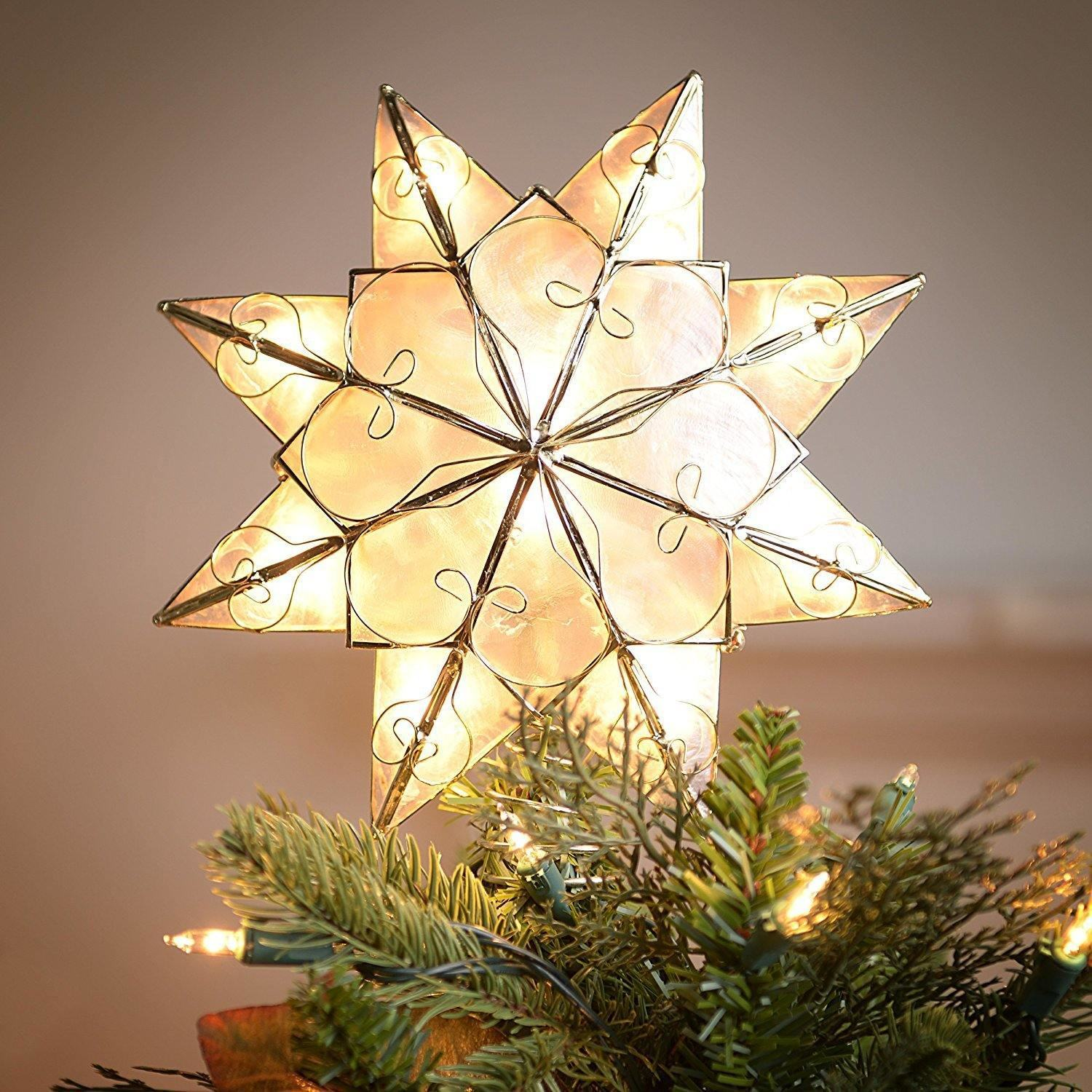 Star For A Christmas Tree: Most Beautiful Christmas Topper Ideas