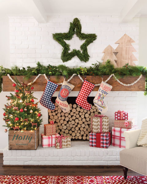 Country Christmas Decorating Ideas 1