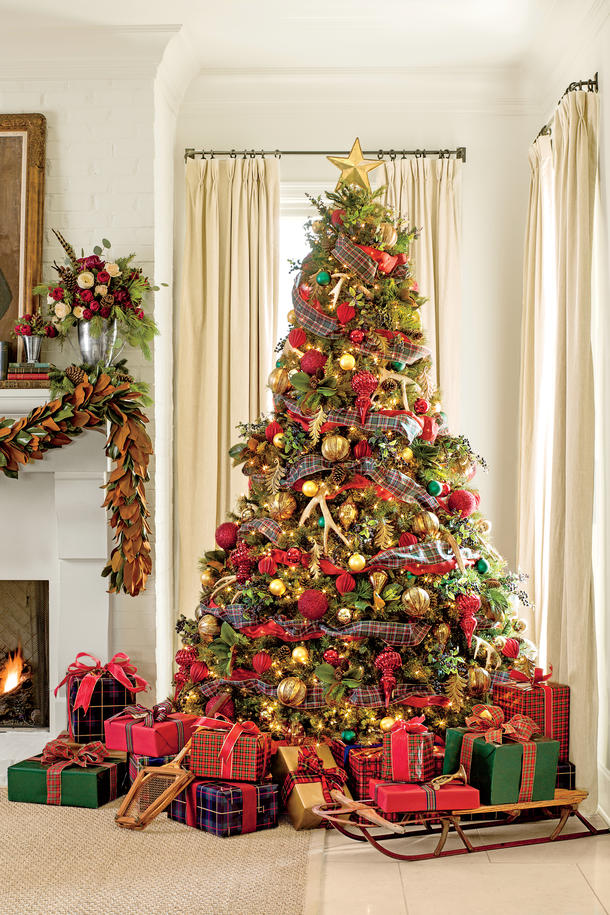 Beautiful Country Christmas Decorating Ideas - Festival ...