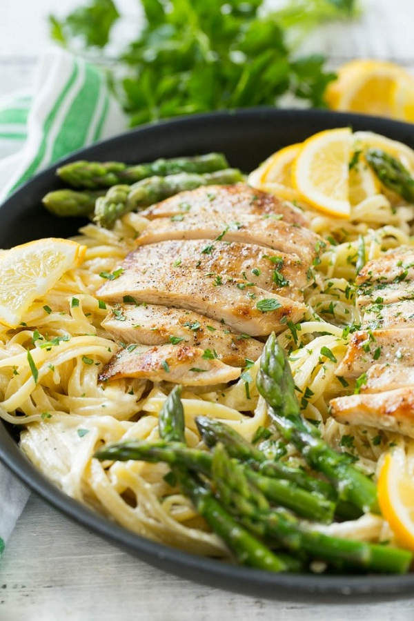 lemon-asparagus-pasta-with-chicken