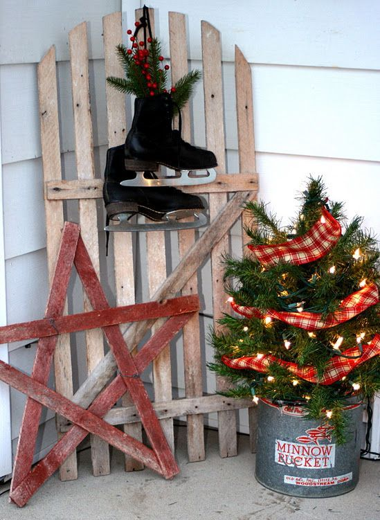 rustic-christmas-decoration-ideas-24