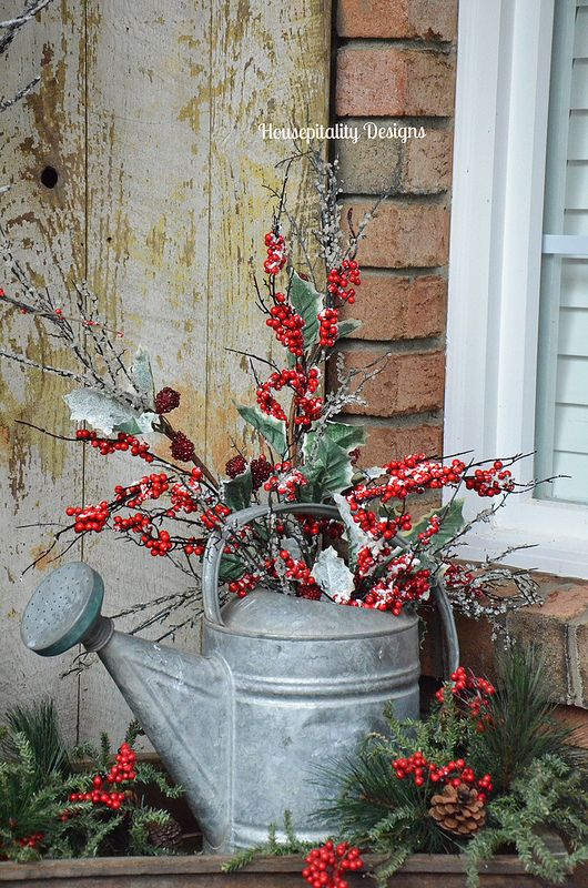 Country Christmas Decor Outside : Dreamy vintage christmas decoration ideas festival