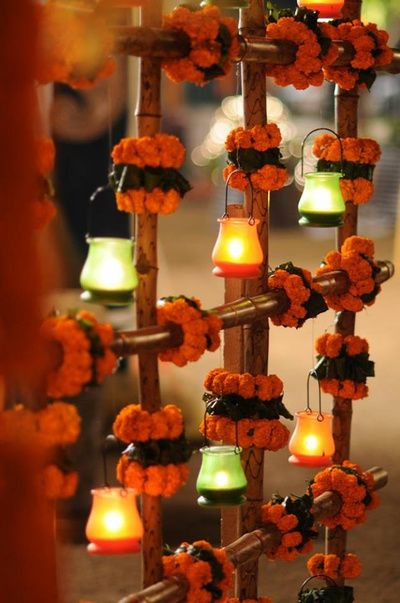 Beautiful diwali decoration ideas for 2017 festival for Home decorations ideas for diwali