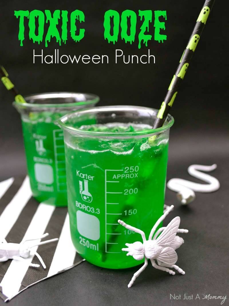 30 halloween drink recipes cocktail recipes festival for Halloween green punch recipes alcoholic